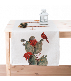 TABLE RUNNER - TROPICAL XMAS 107